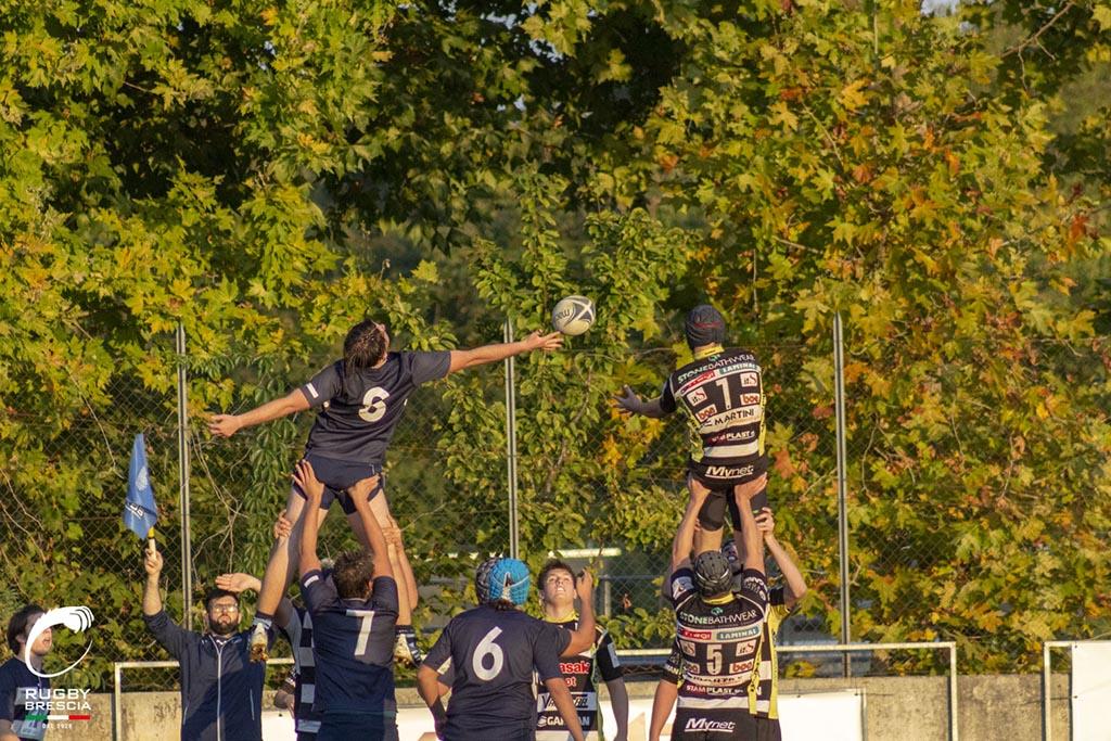 Rugby Brescia Calvisano lineout U17