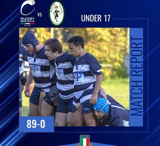 Rugby Brescia U17 vs Fiumicello